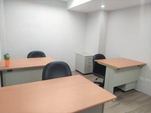 金融業駐點多、近捷運站、辦公機能佳,2~5人辦公室